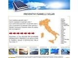 Anteprima www.preventivipannellisolari3.it