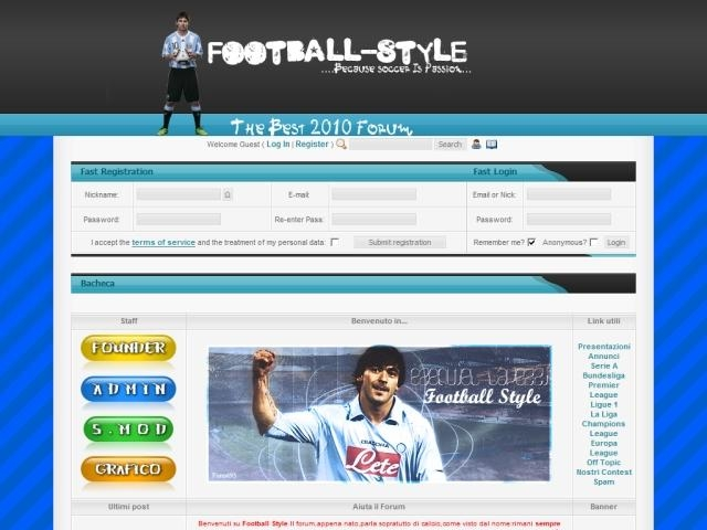 Anteprima football-style.forumcommunity.net