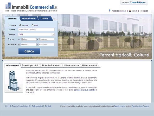 Anteprima www.immobilicommerciali.it