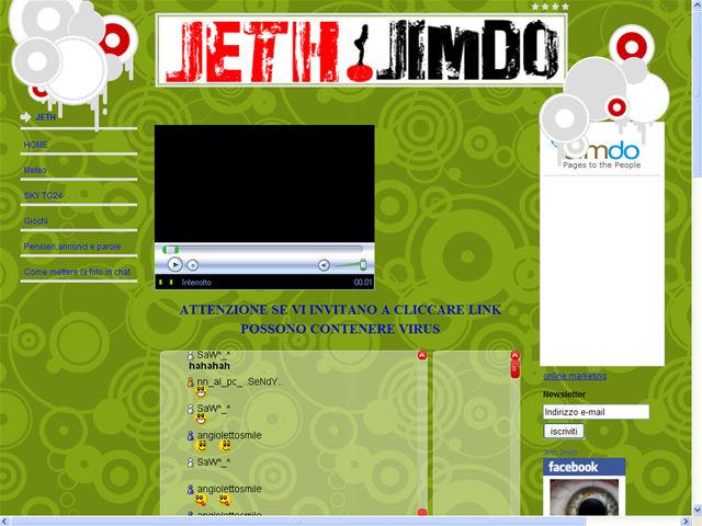 Anteprima www.jeth.jimdo.com