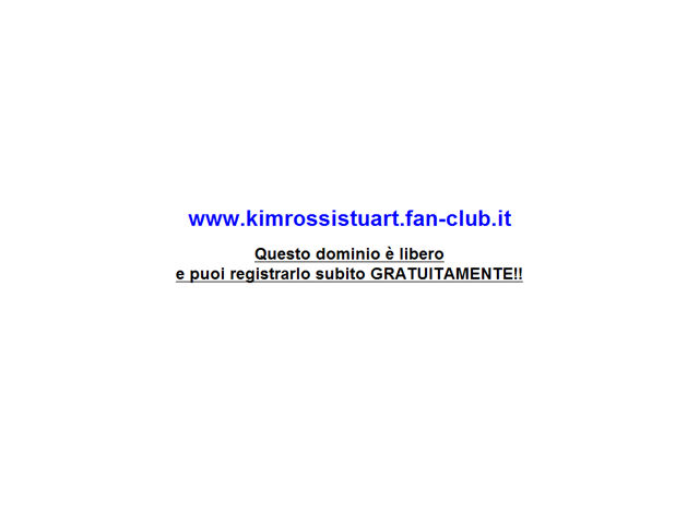 Anteprima www.kimrossistuart.fan-club.it