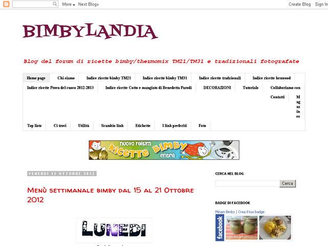 Anteprima bimbylandia.blogspot.com