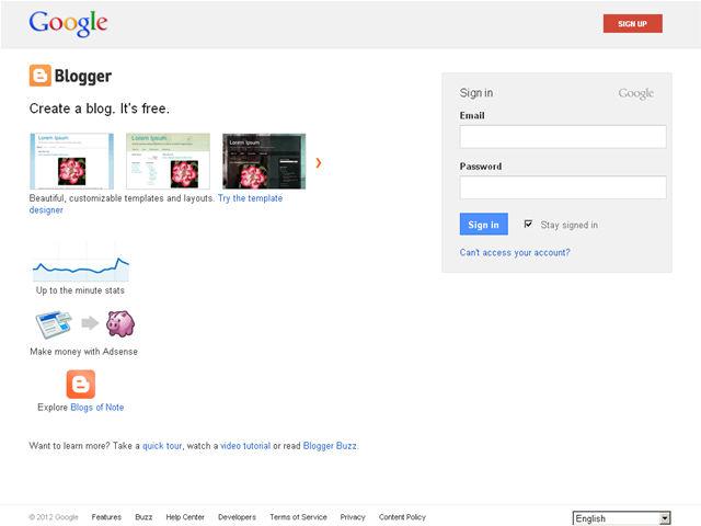 Anteprima www.blogger.com/blogger.g