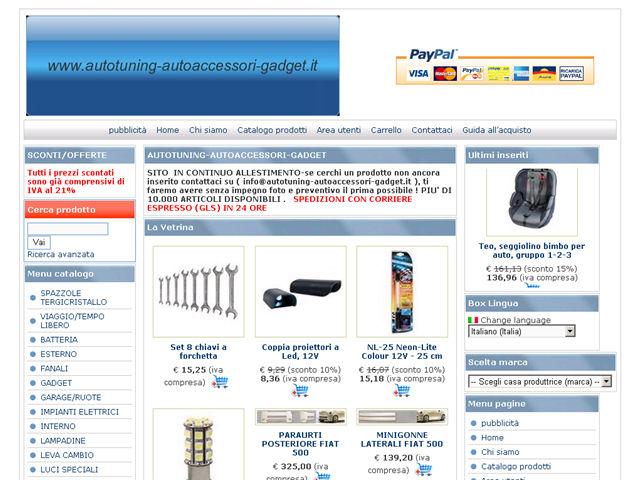 Anteprima www.autotuning-autoaccessori-gadget.it