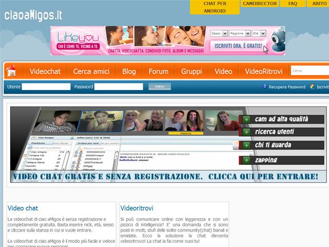 Anteprima www.ciaoamigos.it