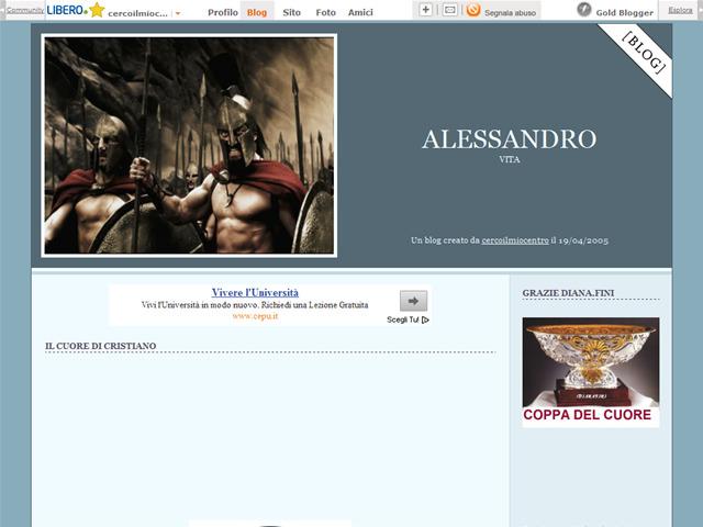 Anteprima blog.libero.it/cercoilmiocentro