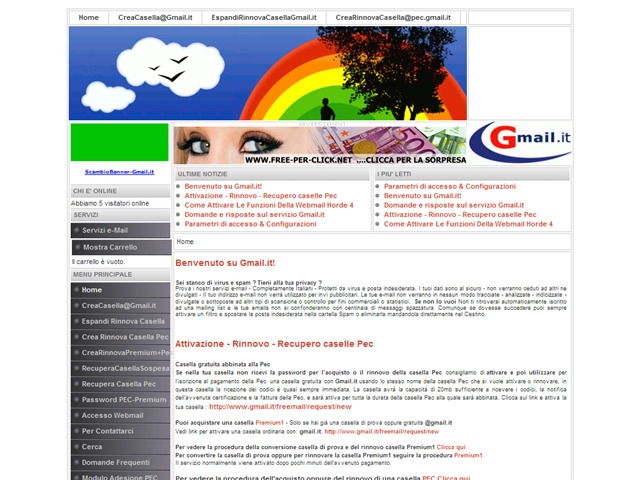 Anteprima www.gmail.it