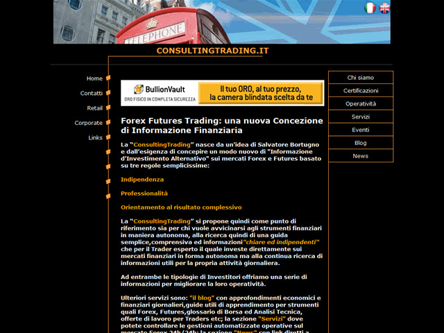Anteprima www.consultingtrading.it