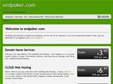 Anteprima www.avdpoker.com
