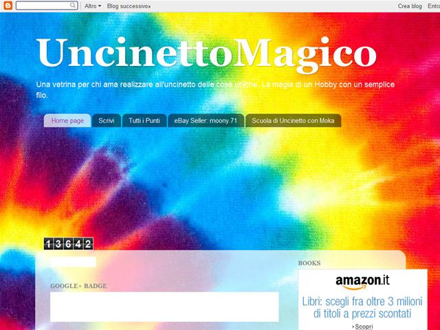 Anteprima uncinettomagico.blogspot.it