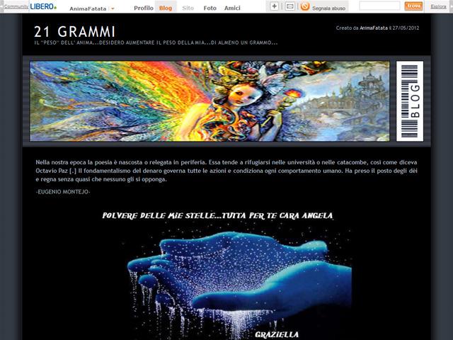Anteprima blog.libero.it/21grammi