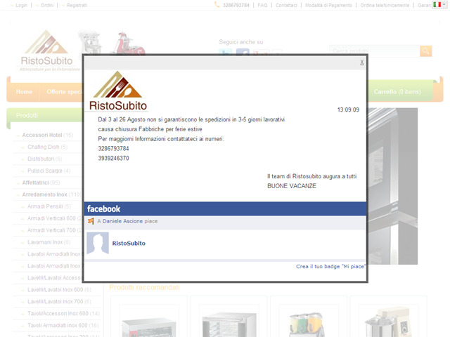 Anteprima www.ristosubito.com