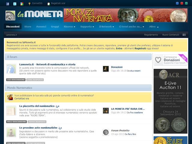 Anteprima www.lamoneta.it