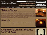 Anteprima www.maisonalthea.it