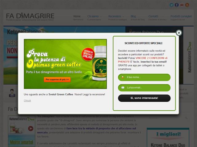Anteprima www.fadimagrire.it