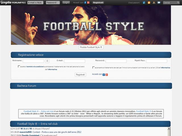 Anteprima football-style.forumcommunity.net