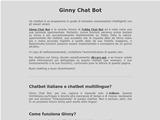 Anteprima ginnychatbot.altervista.org/about.php