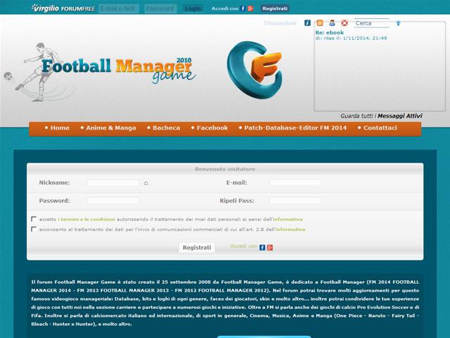 Anteprima footballmanagergame.forumcommunity.net