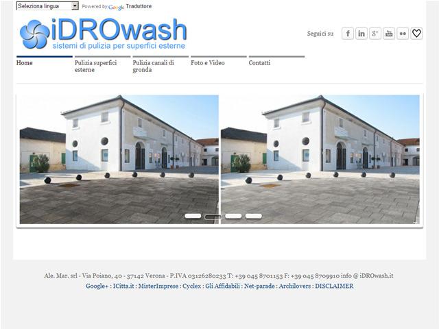 Anteprima www.idrowash.it