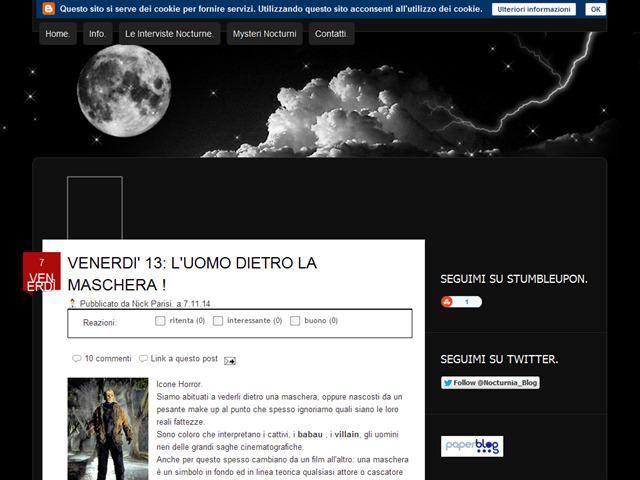 Anteprima wwwwelcometonocturnia.blogspot.it