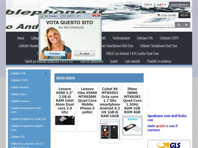 Anteprima www.tablephone.it