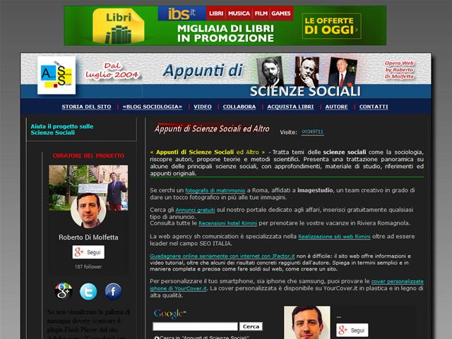 Anteprima www.appuntidiscienzesociali.it