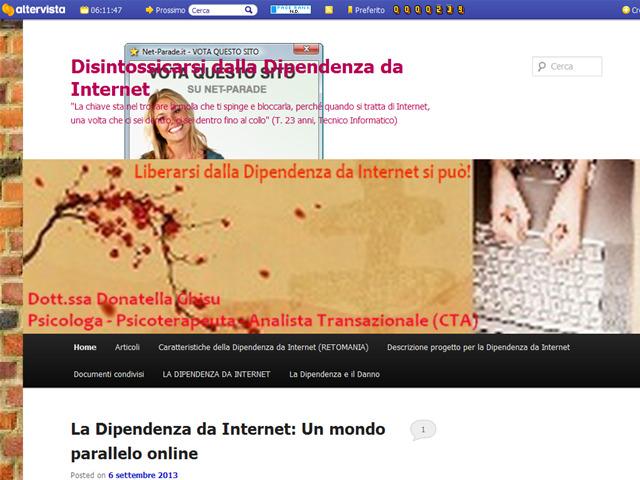 Anteprima ladipendenzadainternet.altervista.org