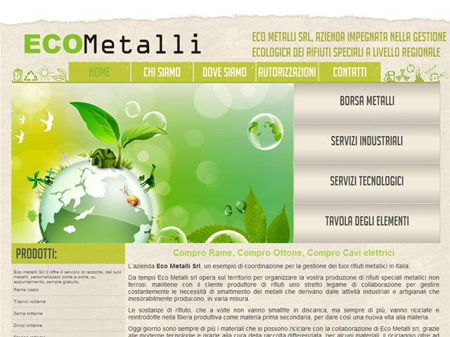 Anteprima www.ecometalli.net