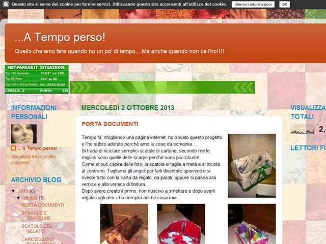 Anteprima atempoperso77.blogspot.it