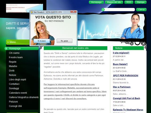 Anteprima www.dirittieservizi.it