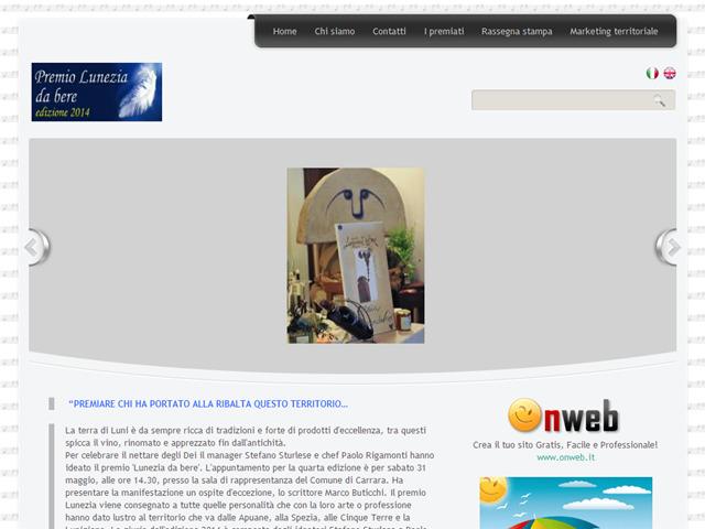Anteprima www.premioluneziadabere.onweb.it