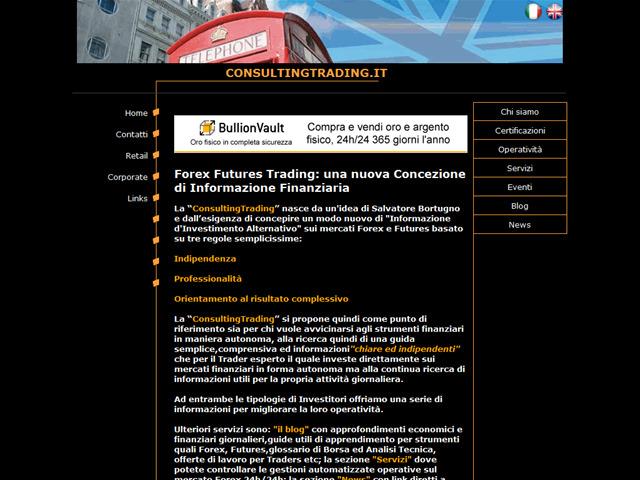 Anteprima www.consultingtrading.it