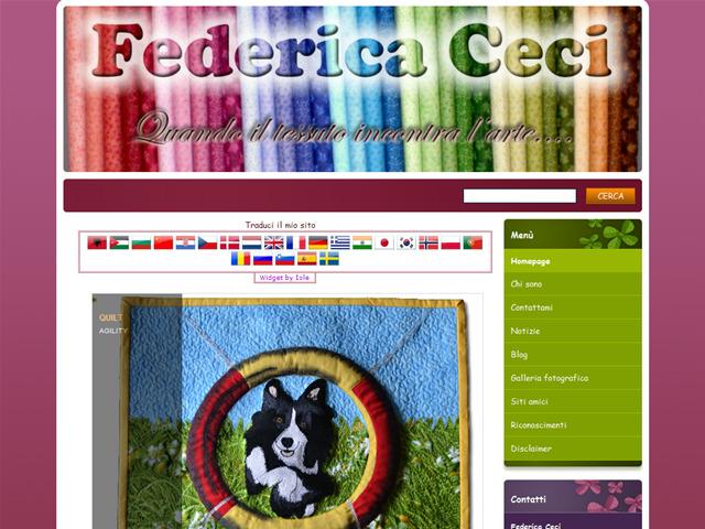 Anteprima www.federicaceci.it