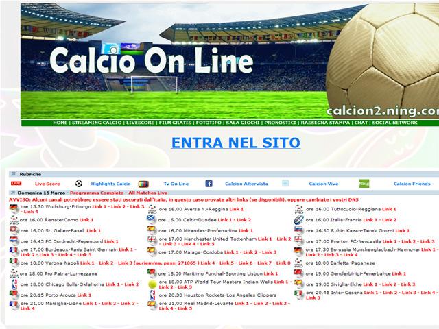 Anteprima www.calcion.eu