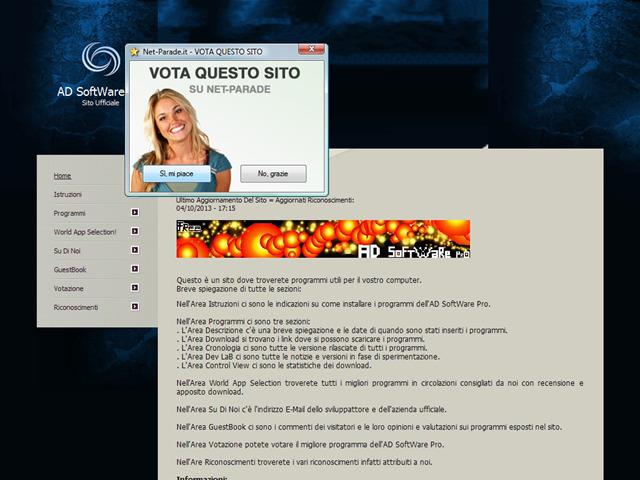 Anteprima www.adsoftwarepro.sitiwebs.com