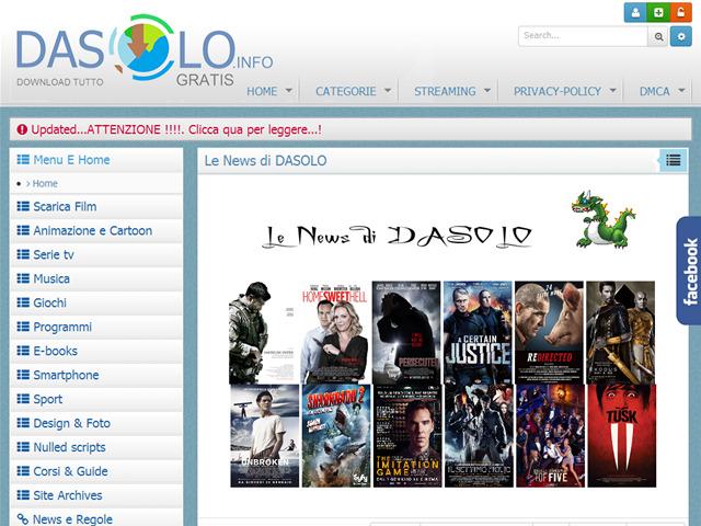 Anteprima dasolo.info