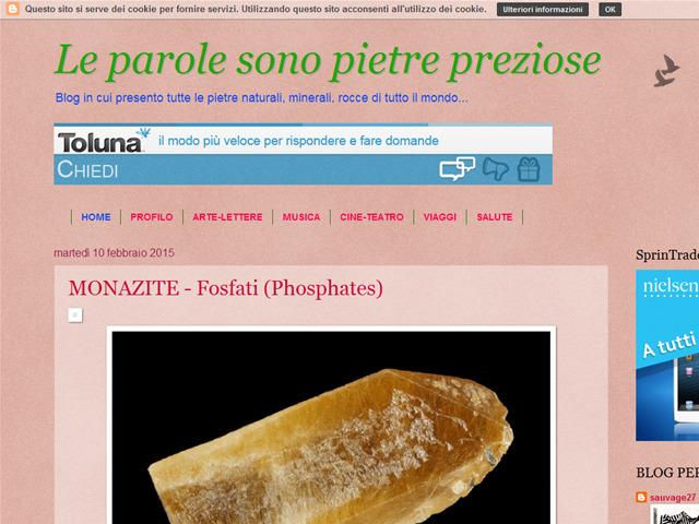 Anteprima mineralsauvage.blogspot.it