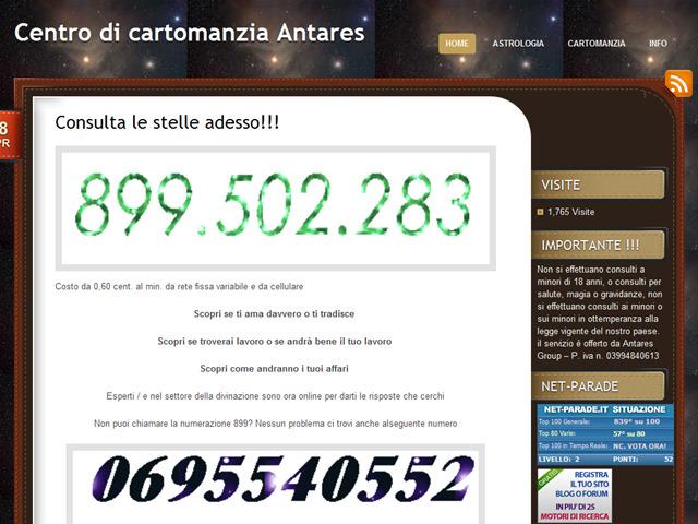 Anteprima www.centrodicartomanziantares.com