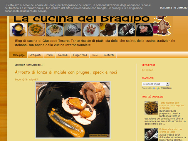 Anteprima lacucinadelbradipo.blogspot.it