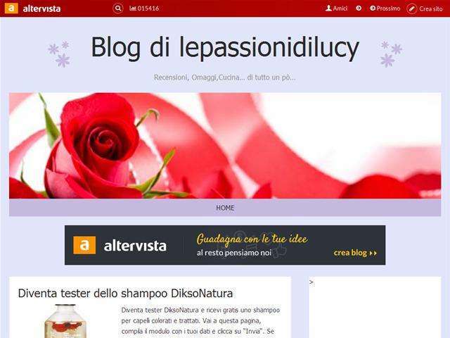 Anteprima lepassionidilucy.altervista.org