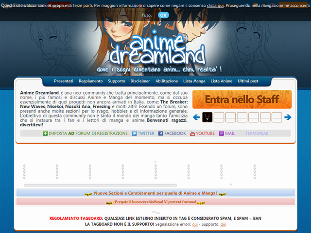Anteprima animedreamland.forumcommunity.net