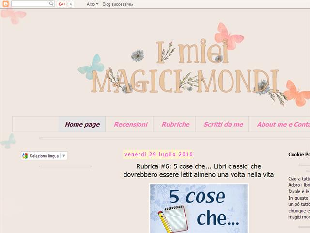 Anteprima imieimagicimondi.blogspot.it