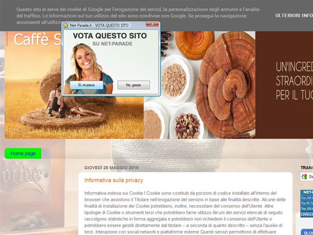 Anteprima caffesupremo.blogspot.it