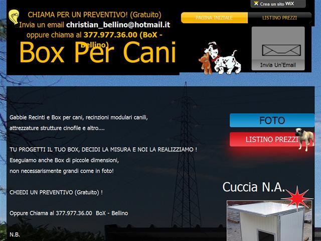 Anteprima gabbiepercani.wix.com/gabbie-per-cani#!home/mainpage