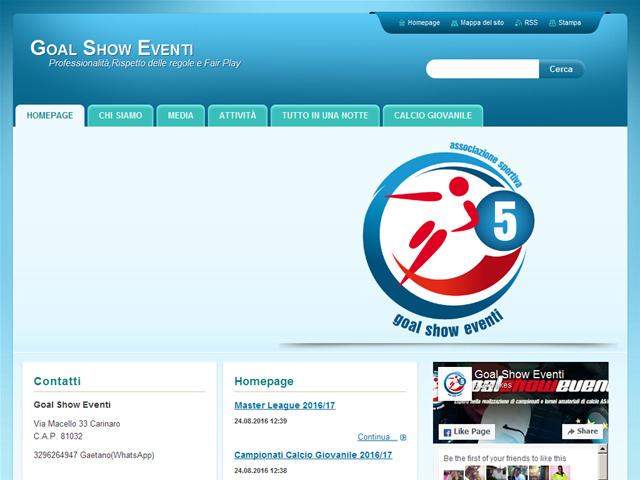 Anteprima www.goalshow.webnode.it