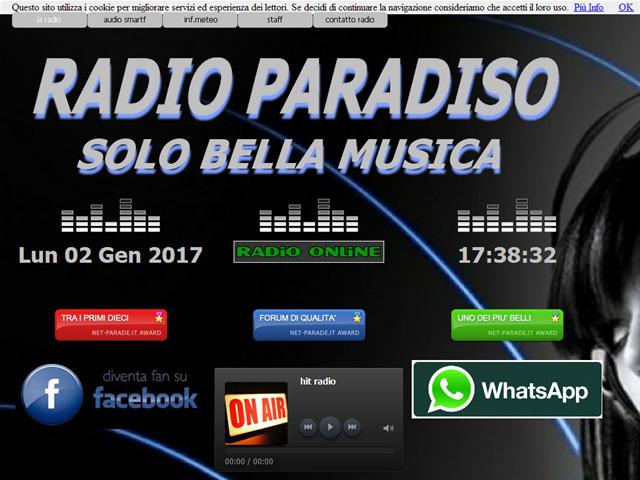 Anteprima www.radioparadiso.it
