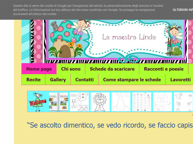 Anteprima lamaestralinda.blogspot.it