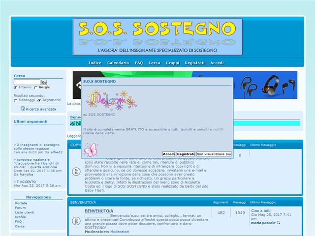 Anteprima sostegno.forumattivo.com