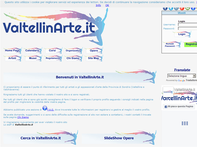 Anteprima www.valtellinarte.it