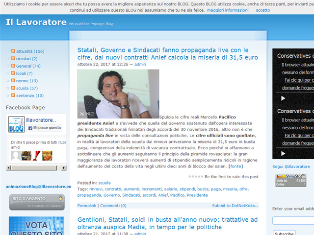 Anteprima www.illavoratore.eu/blog
